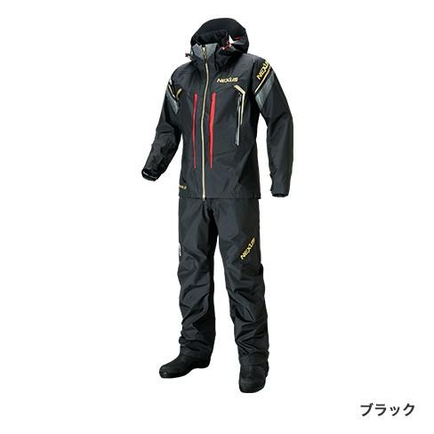 シマノ (shimano) RA-124S ブラック Mサイズ NEXUS・DS タフレインスーツ