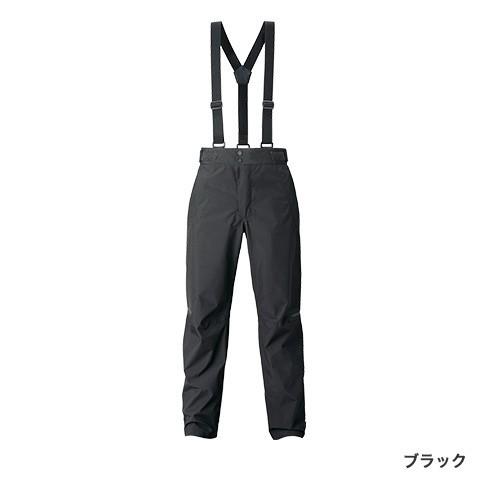 シマノ (shimano) RA-01PT ブラック 2XLサイズ GORE-TEX®エクスプローラーレインパンツ