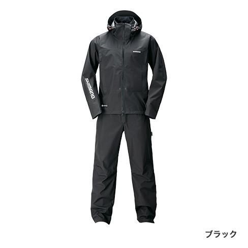 シマノ (shimano) RA-017T ブラック XLサイズ GORE-TEX®アドバンスレインスーツ