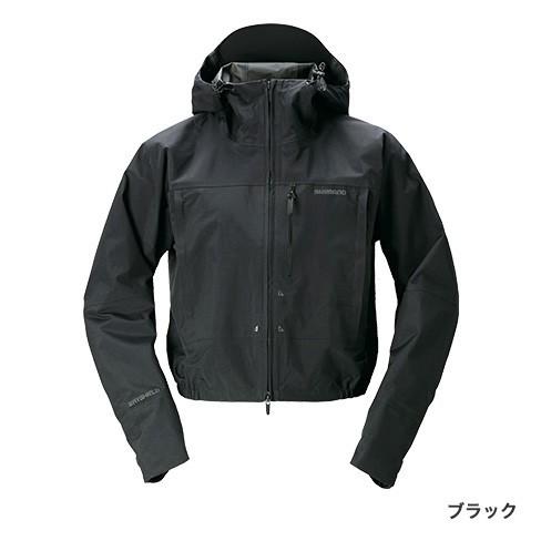 シマノ (shimano) RA-02ST ブラック XLサイズ DSショートレイン