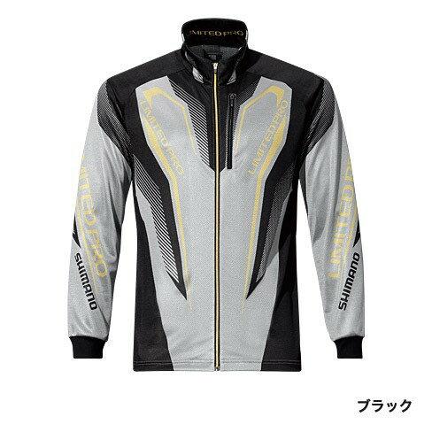 シマノ(Shimano) SH-011Pブラック L WT-℃・フルジップリミテッドプロシャツ
