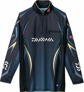 ダイワ(Daiwa) DE-7006 マスターブラック 3XL(4L) サイズ(スペシャル アイスドライ® ジップアップ長袖メッシュシャツ)