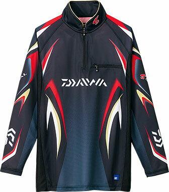 ダイワ(Daiwa) DE-7006 ブラック 3XL(4L)サイズ (スペシャル アイスドライ® ジップアップ長袖メッシュシャツ)