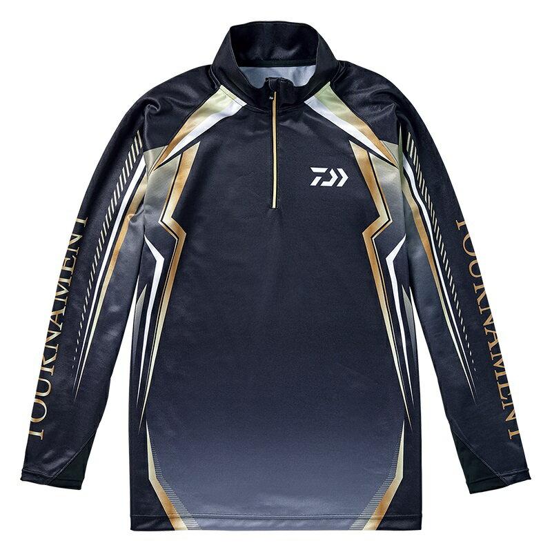 ダイワ (Daiwa) DE-77008T Black XLサイズ(トーナメント ドライシャツ)