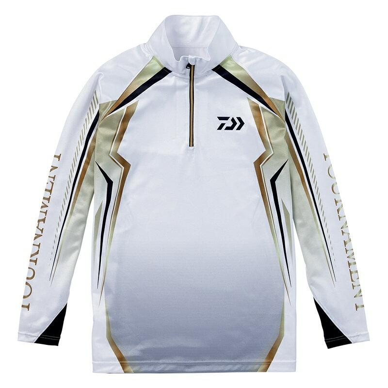 ダイワ (Daiwa) DE-77008T white XLサイズ(トーナメント ドライシャツ)