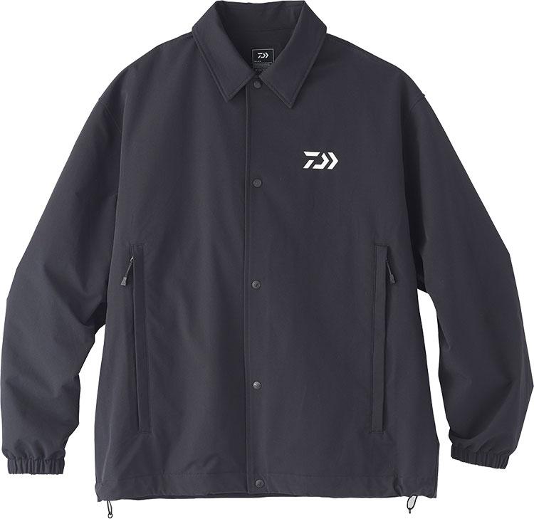 ダイワ (Daiwa) DJ-35020 ブラック Sサイズ (撥水 コーチジャケット)