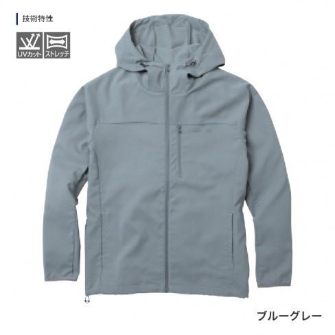 防汚性があり 小雨にも対応 シマノ 絶品 Shimano SSジャケット Lサイズ 今だけ限定15%OFFクーポン発行中 WJ-048T ブルーグレー