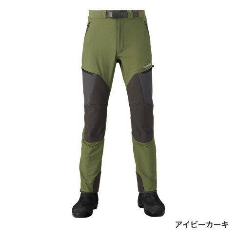 シマノ(shimano) PA-041R アイビーカーキ  XLサイズ  撥水ストレッチパンツ