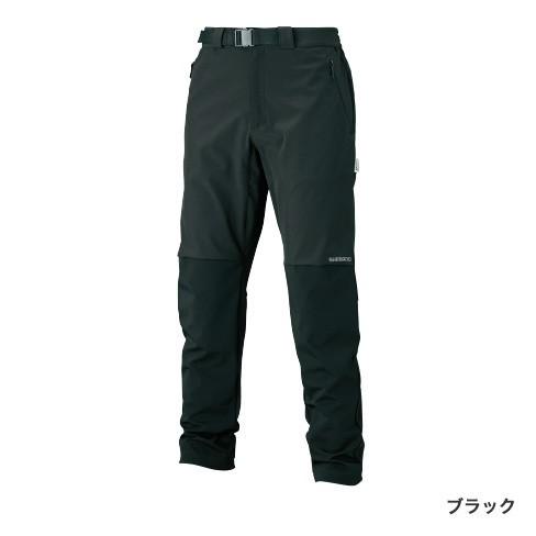シマノ (Shimano) WP-045S ブラック Lサイズ 防風ストレッチパンツ