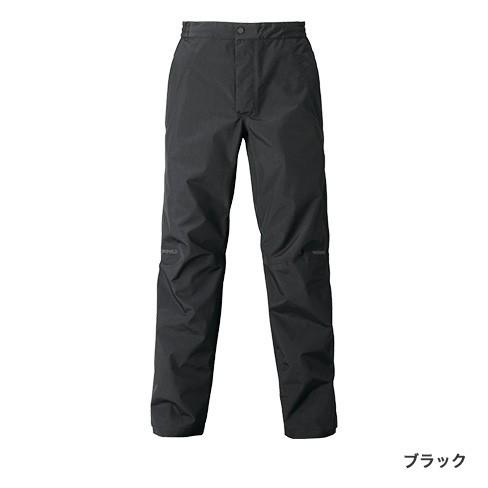 シマノ (shimano) RA-04PT ブラック 3XLサイズ DSエクスプローラーレインパンツ
