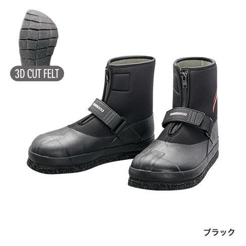 シマノ (Shimano) FT-035T ブラック LLサイズ 3Dカットフェルトタビ(中割)