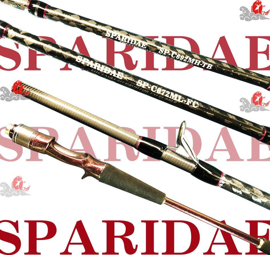 スラッシュ(SLASH) スパライダ(SPARIDAE) C672M-FC ※画像は各機種共通です。