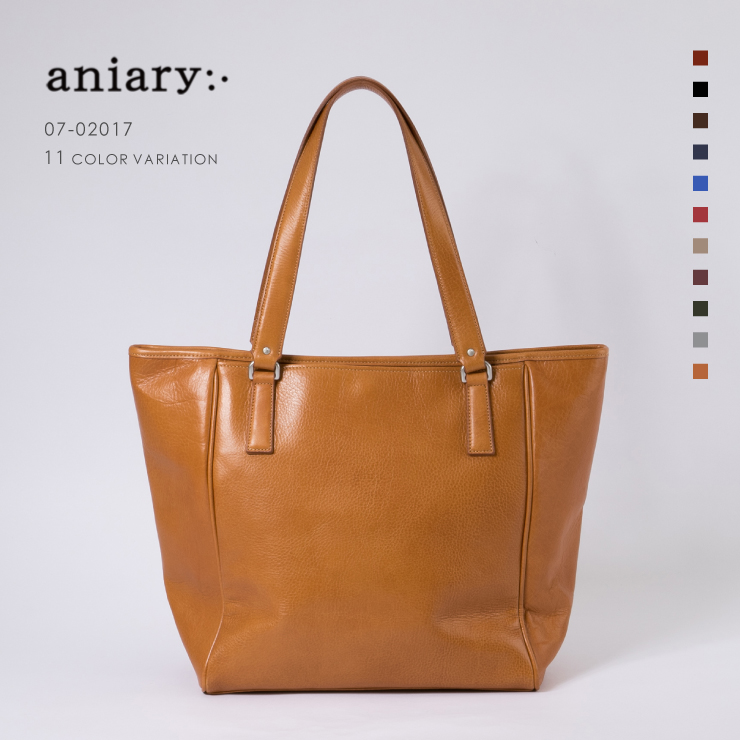 【aniary|アニアリ】Antique Leather アンティークレザー 牛革 Tote トートバッグ 01-02017 [送料無料]