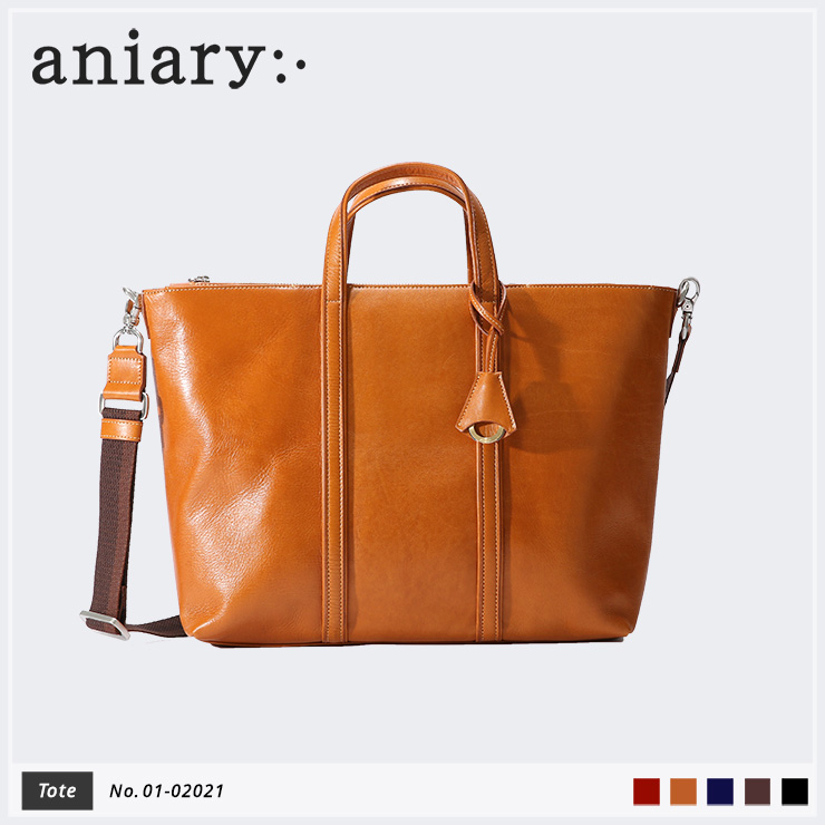 【aniary|アニアリ】Antique Leather アンティークレザー 牛革 Tote トートバッグ 01-02021 [送料無料]