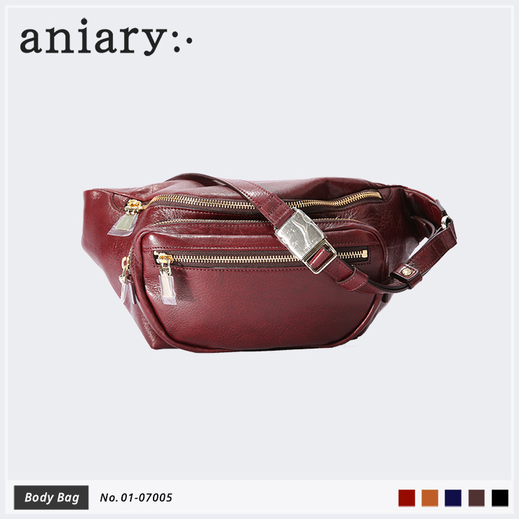 【aniary|アニアリ】Antique Leather アンティークレザー 牛革 Body Bag ボディバッグ 01-07005 [送料無料]