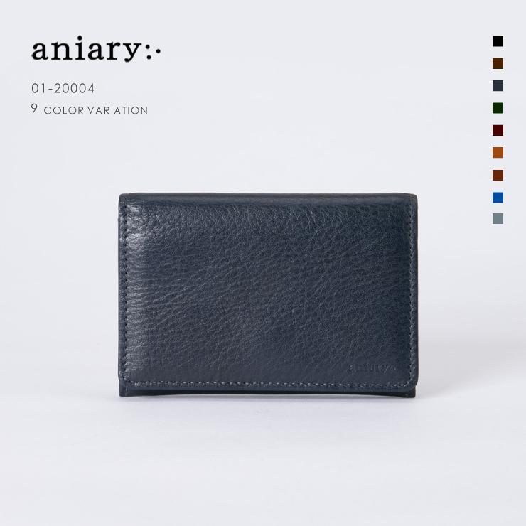 【aniary|アニアリ】Goods [01-20004]レビュー申請で500円クーポンプレゼント! 【aniary|アニアリ】Antique Leather アンティークレザー 牛革 Goods カードケース 名刺入れ 01-20004 メンズ