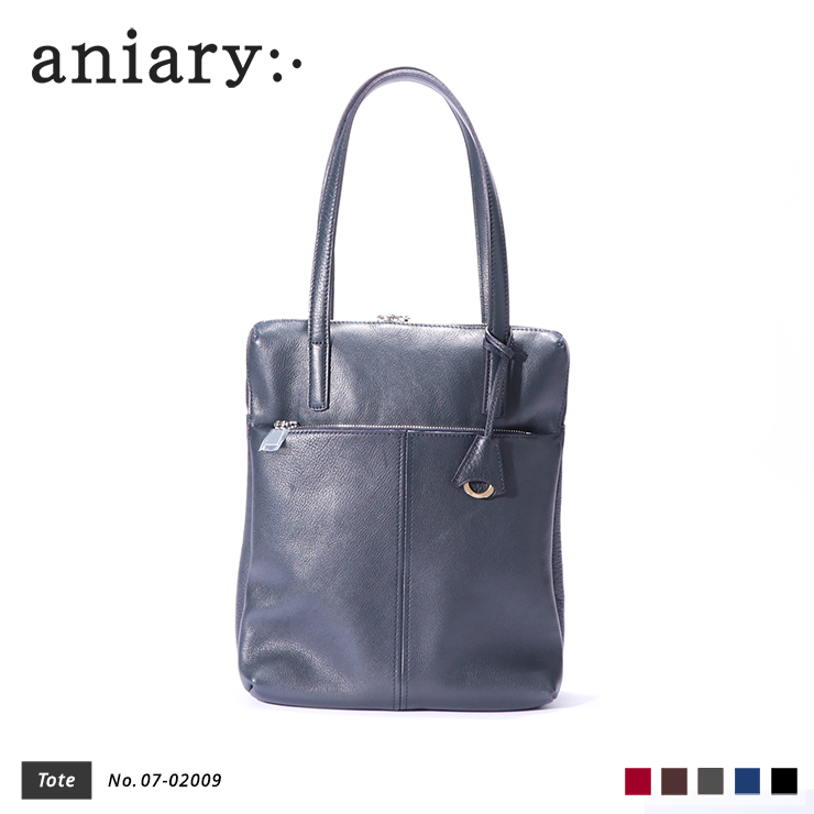 【aniary|アニアリ】Shrink Leather シュリンクレザー 牛革 Tote トートバッグ 07-02009 [送料無料]