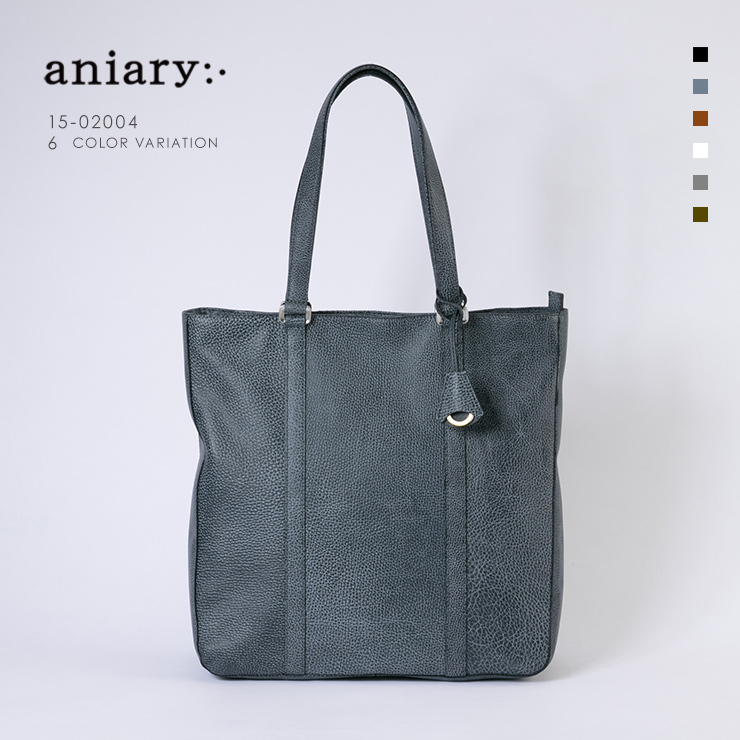 【aniary|アニアリ】Grind Leather グラインドレザー 牛革 Tote トートバッグ 15-02004 [送料無料]