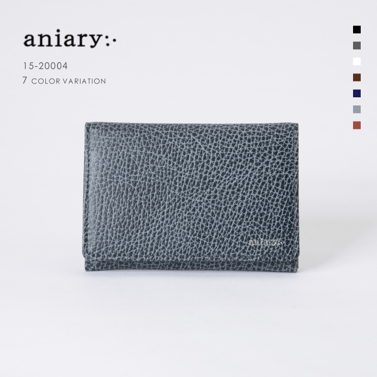 d100a40828a4 アニアリ·aniary 名刺入れ【送料無料】Grind Leather牛革 Card Case 15-20004 アニアリ·aniary  名刺入れ送料無料!最新作をお届け!【レビュー申請で500円クーポン ...