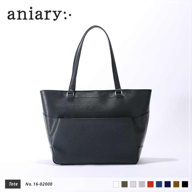 【aniary アニアリ】Wave Leather ウェーブレザー 牛革 Tote トートバッグ 16-02000 [送料無料]