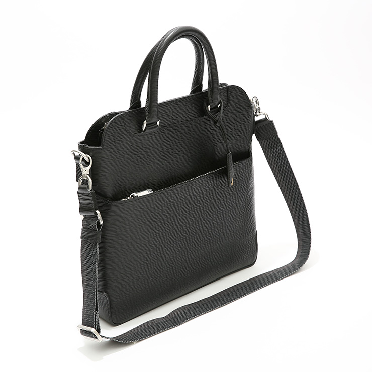 【aniary|アニアリ】Wave Leather ウェーブレザー 牛革 Tote トートバッグ 16-02002 []