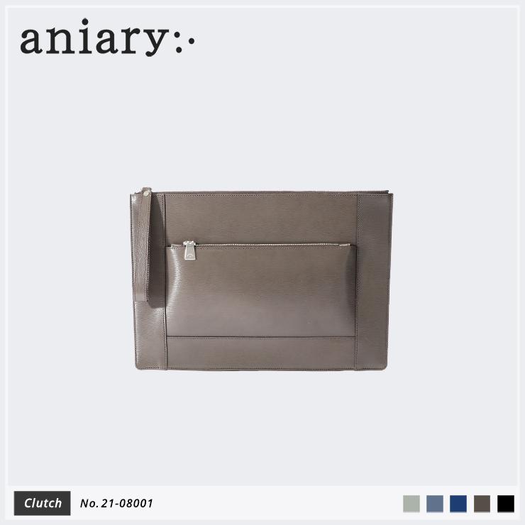 【新作】【aniary|アニアリ】Inheritance Leather インヘリタンスレザー 牛革 Clutch クラッチバッグ 21-08001 メンズ [送料無料]