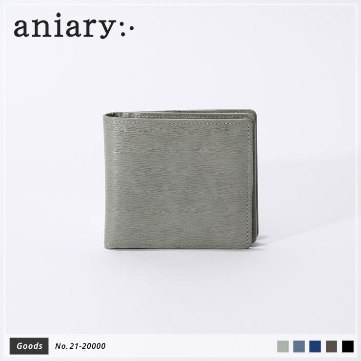 【新作】【aniary|アニアリ】Inheritance Leather インヘリタンスレザー 牛革 Goods ウォレット 二つ折り財布 21-20000 [送料無料]