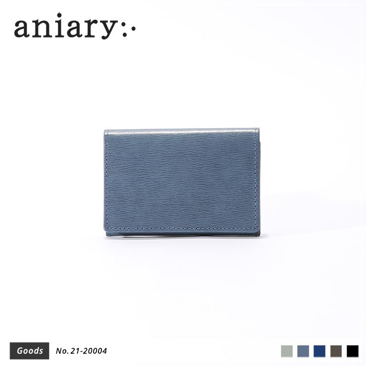 【新作】【aniary アニアリ】Inheritance Leather インヘリタンスレザー 牛革 Goods カードケース 名刺入れ 21-20004 [送料無料]