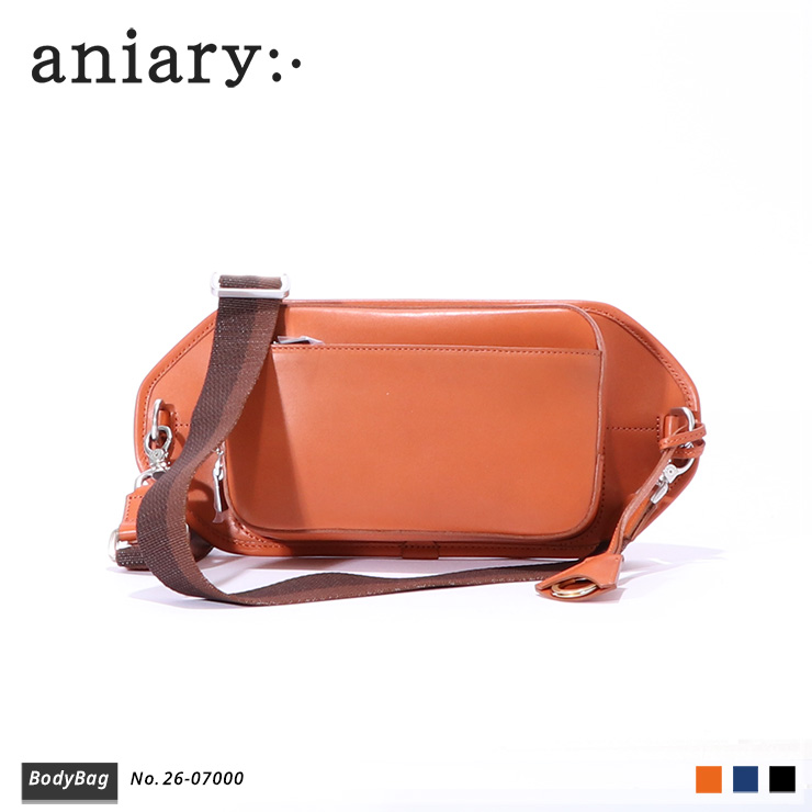 【aniary|アニアリ】Axis Leatherアクシスレザー牛革 BodyBag ボディバッグ 26-07000 [送料無料]