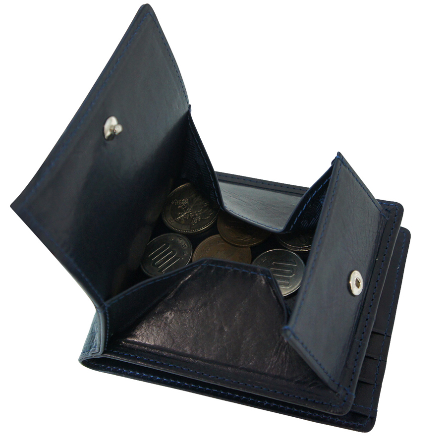【aniary|アニアリ】Real Lizard Leather リアルリザードレザー Goods ウォレット 二つ折り財布 92-20000 []