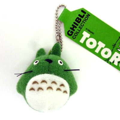 -With zibri collection / ball chain (big Totoro / green)