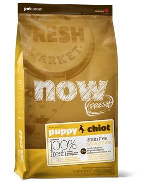 グローバルペットニュートリション ナウフレッシュ(NOW FRESH) DOG パピー (12lb) 5.44kg