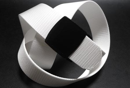 金属アレルギー 金属探知機対策 人気ブランド セール価格 プラスチックバックルベルト ホワイト 白 40ミリナイロン プラスティックバックル 1本までメール便対応可 あす楽対応 日本製 ベルト 樹脂バックル フルサイズ対応