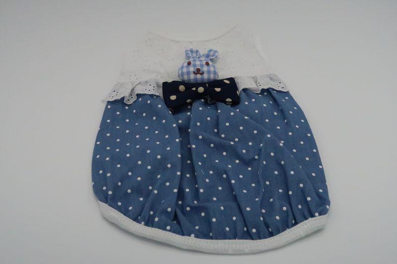 ペットの健康的な毎日を支えるアニマルヘルスサポート 情熱セール ITS DOG JAPAN S お見舞い シュガーバニーTシャツ 犬用 ブルー