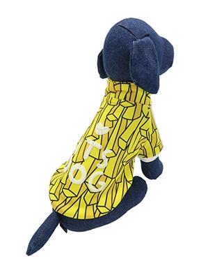 ペットの健康的な毎日を支えるアニマルヘルスサポート ITS DOG JAPAN 格安激安 XL ゴーゴーアイドルジャージ ついに再販開始 犬の服 イエローポテト