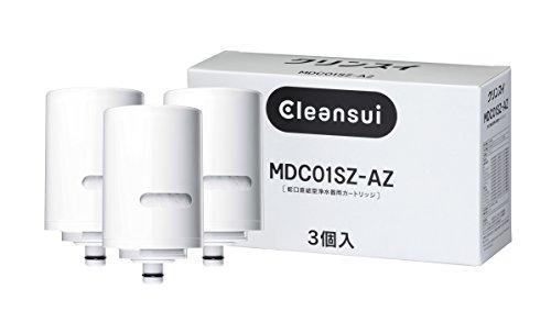 三菱ケミカル 気質アップ クリンスイ メーカー正規品 MDC01SZ-AZ MDC01S×3個入り増量パック クリンスイモノシリーズ用交換カートリッジ 新作製品、世界最高品質人気!