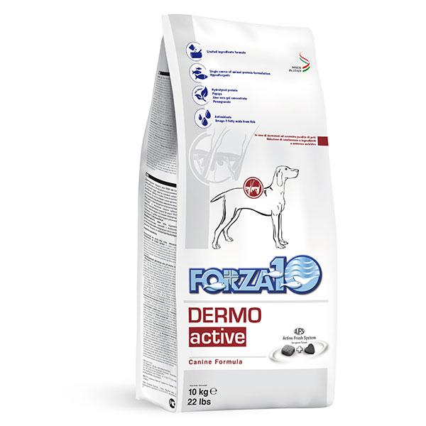 ★【10kg】犬【フォルツァ10】 デルモ アクティブ(皮膚トラブル用食事療法食)