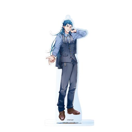 【新品】Fate/Grand Order FES 2017 FGO 描き下ろし アクリルマスコット Anniversary Pick Up キャスター クー・フーリン