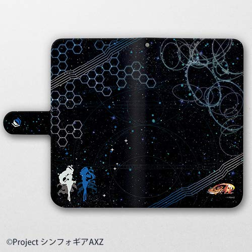 【新品】戦姫絶唱シンフォギアAXZ 手帳型スマホケース 翼 & マリア 汎用Lサイズ
