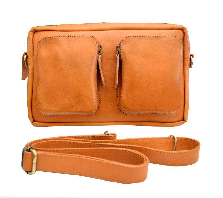 牛本革 iPad 9.7 収納 バッグインバッグ ショルダー付属 col.Camel キャメル 高級本革 SHOULDER BAG 1807021