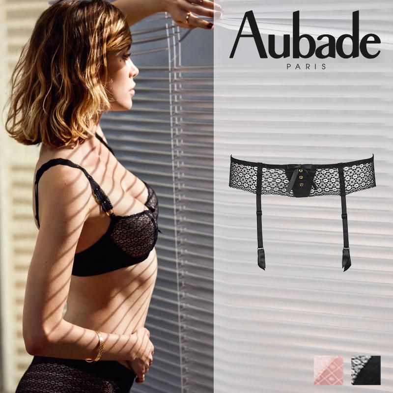 【20%オフ】新作登場!フランス【Aubade】オーバドゥFemme Aubade(フェム オーバドゥ)ガーターベルト(MC50)