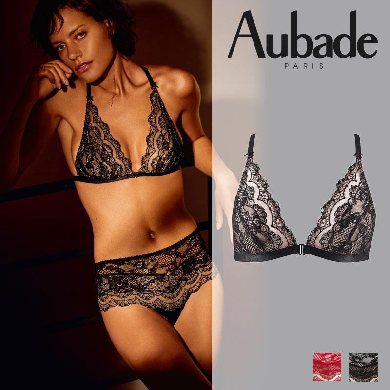 新作登場!フランス【Aubade】オーバドゥND Soliel Nocturne トライアングルブラ Noir カラー(ND10)
