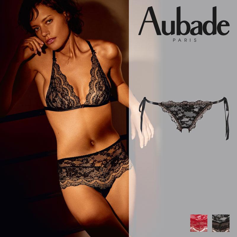 新作登場!フランス【Aubade】オーバドゥND Soliel Nocturne ビキニ Noir カラー(ND20)