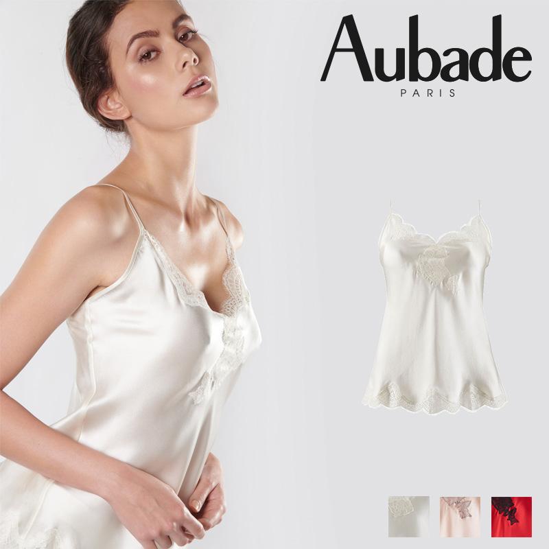 新作登場!フランス【Aubade】オーバドゥMS Soie d'Amour キャミソール Nacre カラー (MS38)