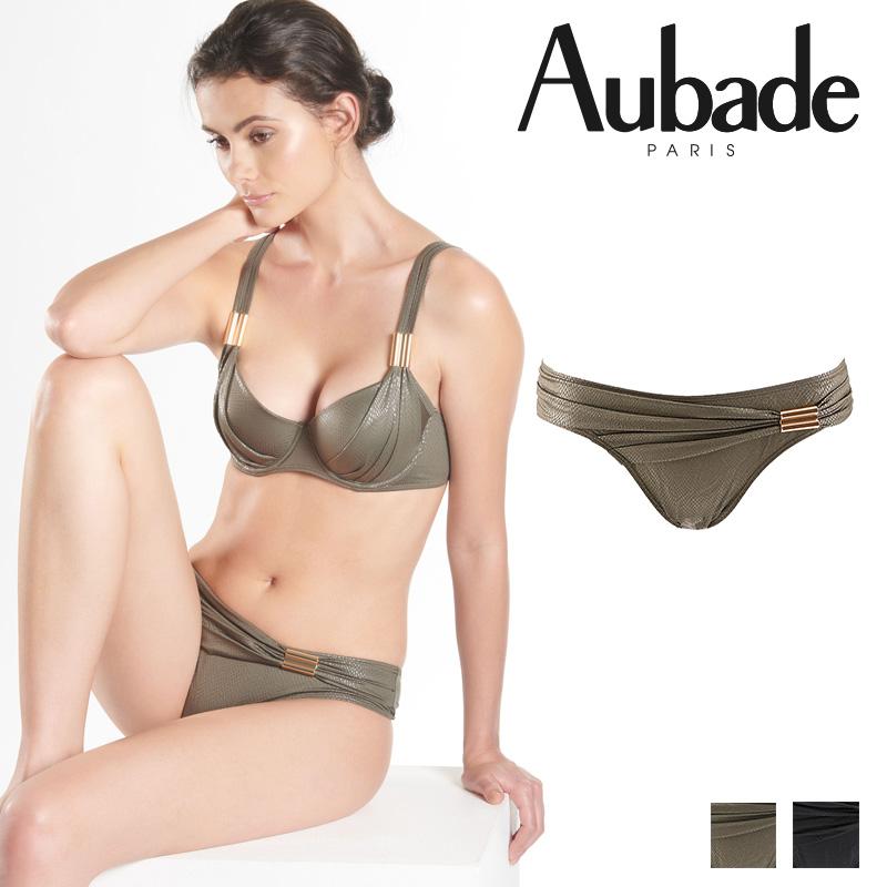 新作登場!フランス【Aubade】オーバドゥNT Divine Cleopatre ブラジリアンショーツ KHAKI カラー (NT22)