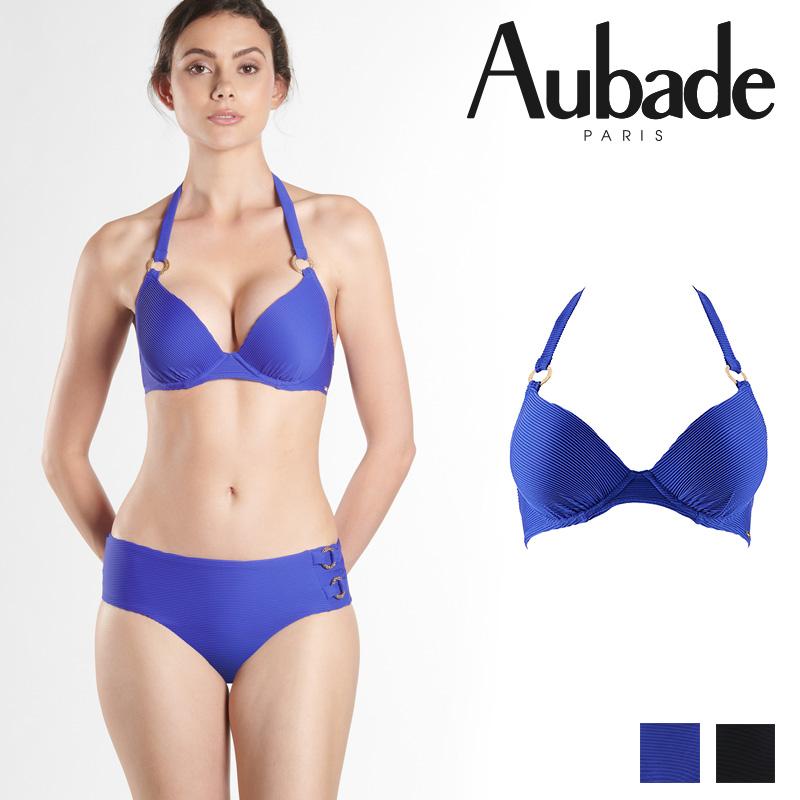 新作登場!フランス【Aubade】オーバドゥNQ Croisiere Privee モールドパデッドブラ LAGON カラー (NQ08)