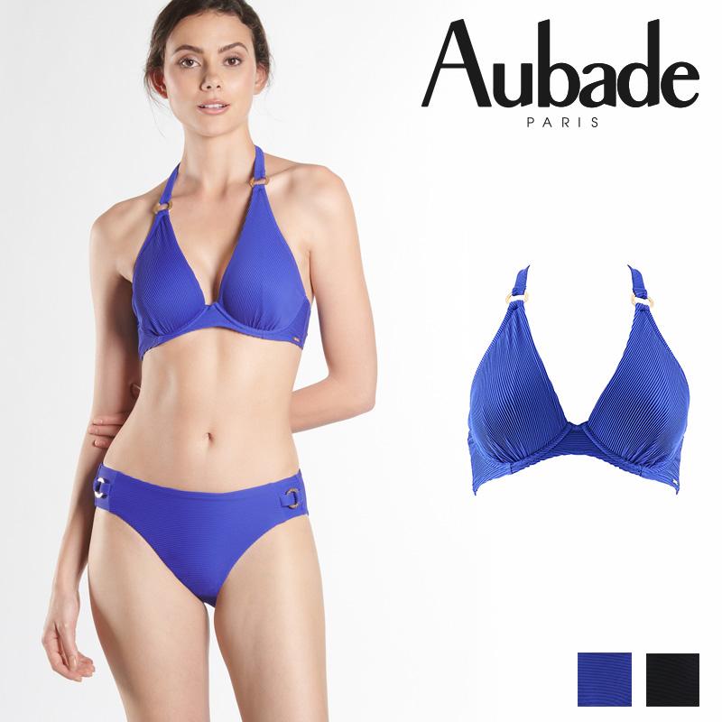 新作登場!フランス【Aubade】オーバドゥNQ Croisiere Privee トライアングルブラ LAGON カラー (NQ10)