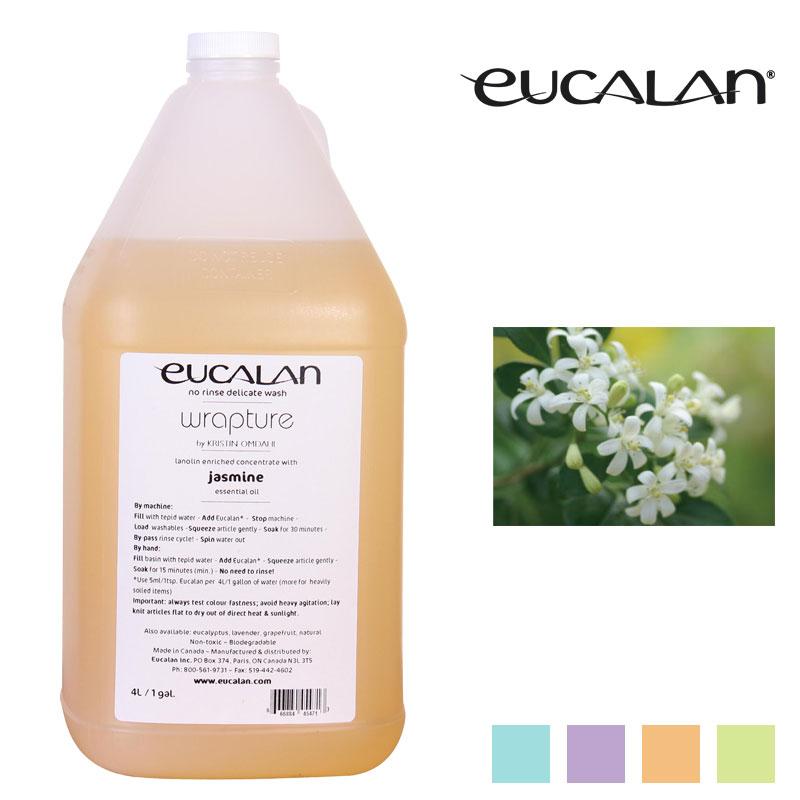 【eucalan】ランジェリー洗剤ユーカラン(4リットル) ジャスミン