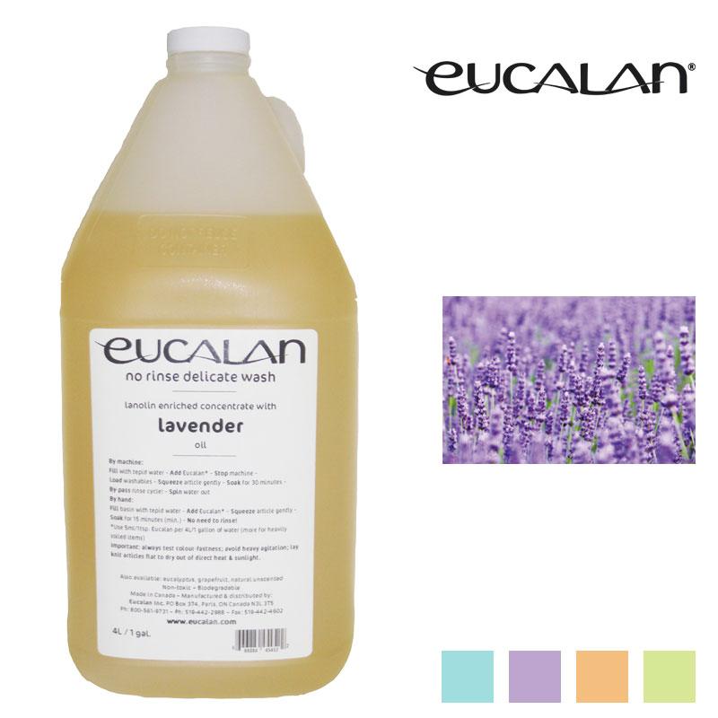 【eucalan】ランジェリー洗剤ユーカラン(4リットル) ラベンダー
