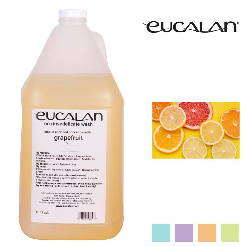 【eucalan】ランジェリー洗剤ユーカラン(4リットル) グレープフルーツ